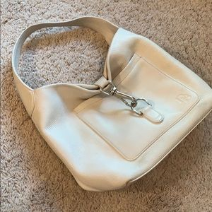 Dooney and Bourke white purse